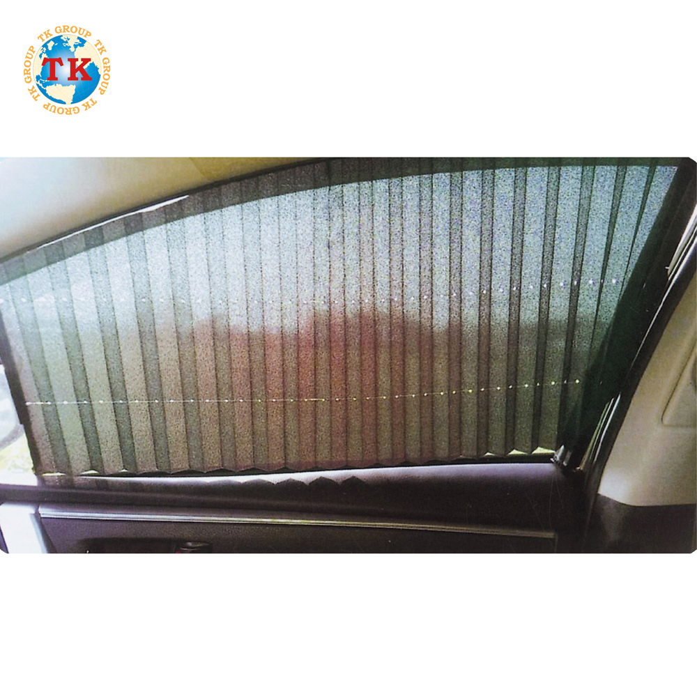 MADE IN TAIWAN Side Roller Travel Roller Solar Car Shade Curtain car roller automatic car sun shade cover material