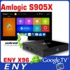 Android 6.0 Marshmallow Amlogic S905X Quad Core TV Box ENY X96 1GB/8GB KODI 1000M LAN HDMI 2.0 4K*2K Google TV Box