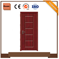interior wood melamine veneer laminated flush MDF doors design