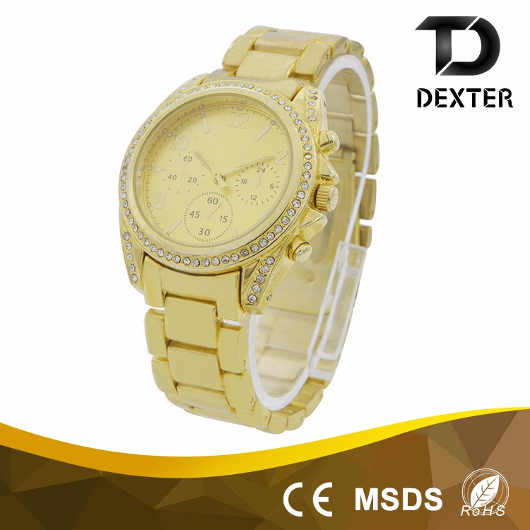 Factory direct supply fashion design ladies arabic numbers watch