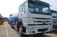 Howo heavy duty 20cbm 6x4 water trucks for drinking water for sale