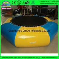 Water Game Toy Mini Trampoline For Rent As A Inflatable Boat For Sale