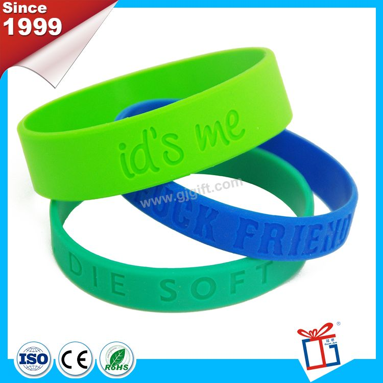 Cheap president promotional silicone wristband