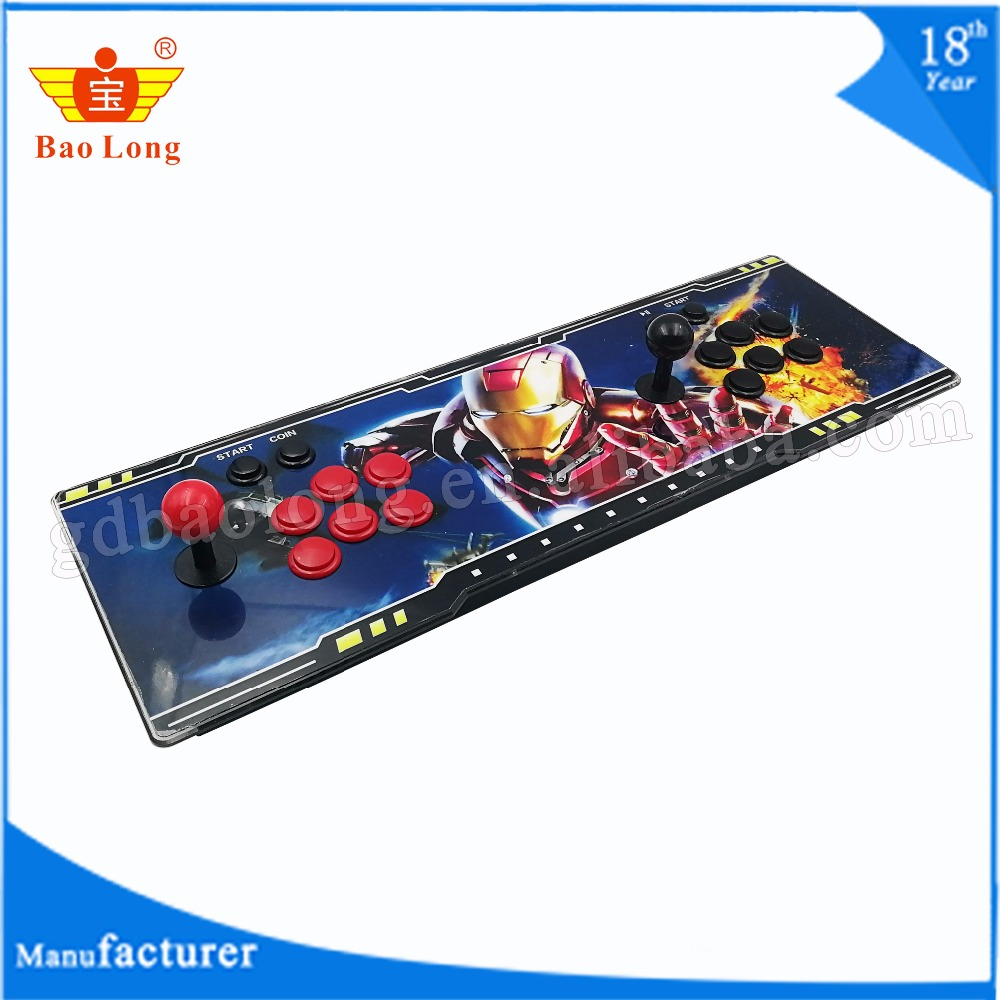 2018newest different design 999 in 1 Pandora box 5s real arcade game console 1-2 players handheld arcade games station