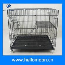 China Cheap Foldable Iron Wire Pet Cat Cage