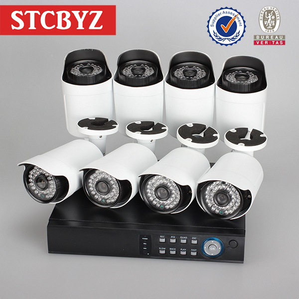 800tvl waterproof camera analog outdoor low cost security kit