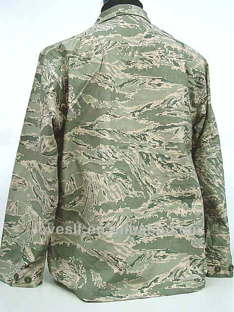 Loveslf wholesale ABU uesd army men camouflage clothing suit