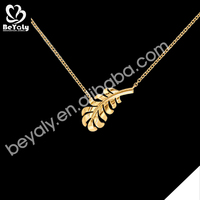 Leaf design cheap silver bulk gold jewelry