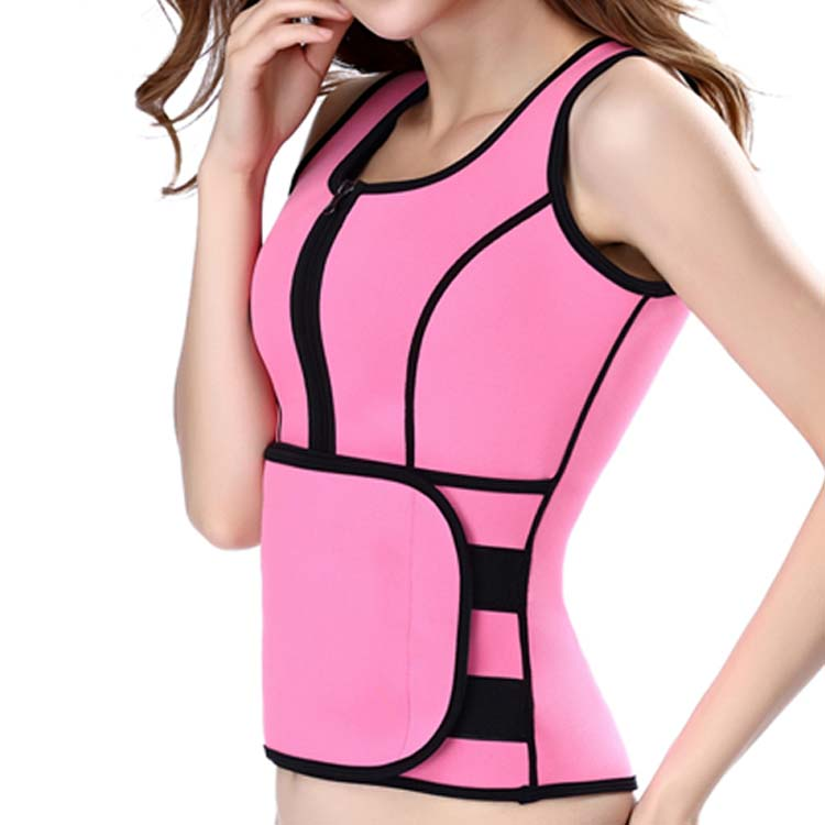 Amazon hot selling corset sauna vest Weight Loss waist trainers for men