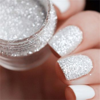 NAIL ART GLITTER POWDER TATTOO HOLOGRAPHIC LASER SEQUINS PIGMENT MANICURE DIY