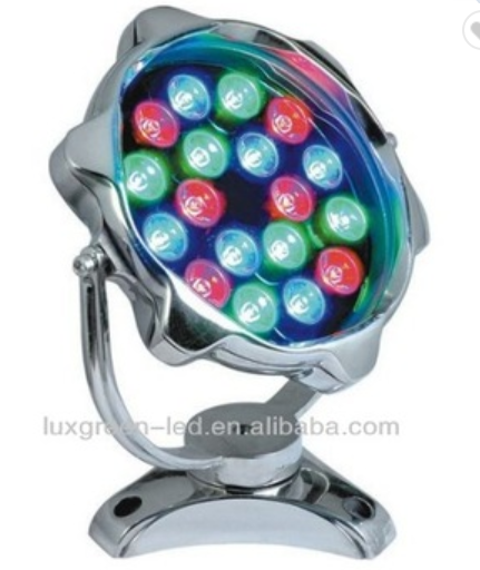 CE&ROHS DC24V  IP68 led super bright RGB 3in1 dmx 512 swimming pool led light underwater light with 3 years warranty