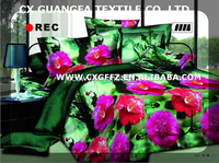 pigment and disperse printing printed polyester microfiber fabric for bed sheet and mattress