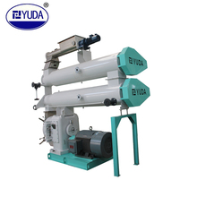 YUDA SZLH400B2 fish feed pellet making machine - aquatic feed pellet mill