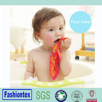 Wholesale baby muslin jacquard towel small hand towel infant bath towel