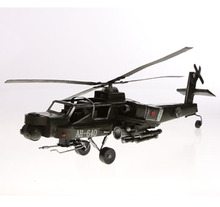 Home Decoration Cheap Antique Imitation Helicopter Model
