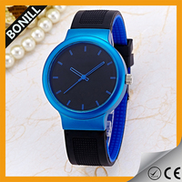 Hot selling fashion brand boys and girls silicone wrist watch bands