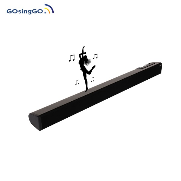 Black 2.0 Home Theatre Soundbar,2017 trending product bluetooth Sound bar speaker FM Radio for TV