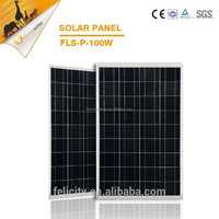 18v 100w poly solar panel, custom solar panels, pv solar panel for light