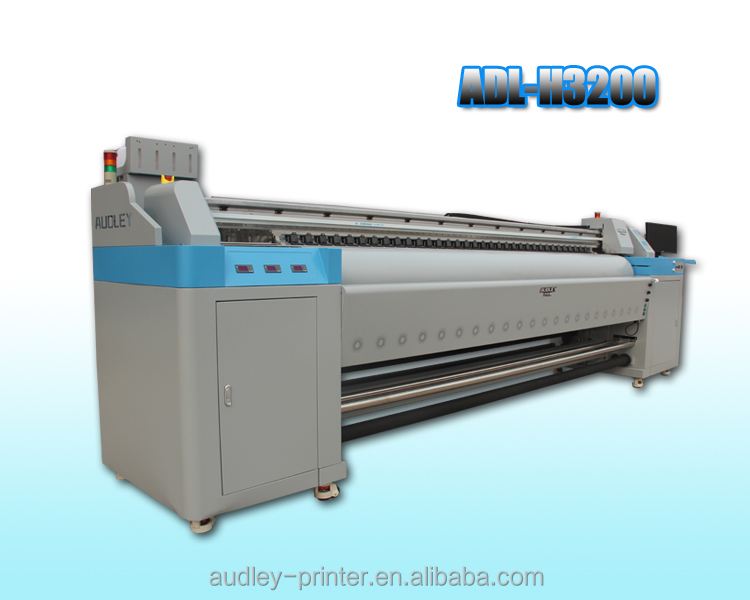CE 10ft heavy duty wide format inkjet all over printing machine with double DX5 head