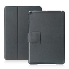 Leather case cover for ipad air like a book from China supplier