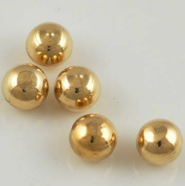 Cheap Wholesale 2mm 4mm 6mm 8mm 10mm Solid Round Brass Beads Without Hole
