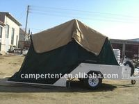 off road hard floor camper trailer tent