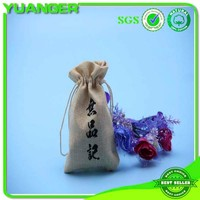 2014 new fashion drawstring jute pouch jute bag gifts drawstring jute bag manufacturer & exporter