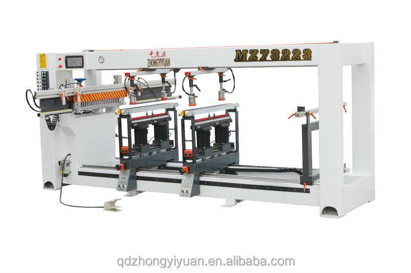 MZ73223 Three line muti hole best price vertical wood working drilling machine for making furniture