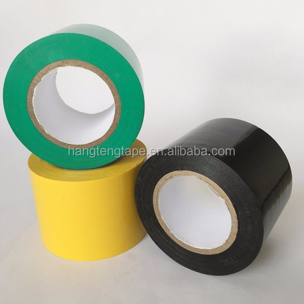 PVC Electric Adhesive Tapes Pipe Wrap Insulation Tape