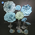 New China artificial wedding decoration flowers high strength Best sell design giant paper flowers