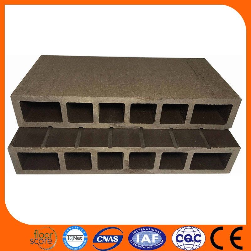 Outdoor Swimming Pool Wood Plastic Composite Decking WPC Flooring for Best Boat Decking Material