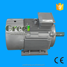12kw 350rpm Permanent Magnet Generator for wind and water power with AC synchronous