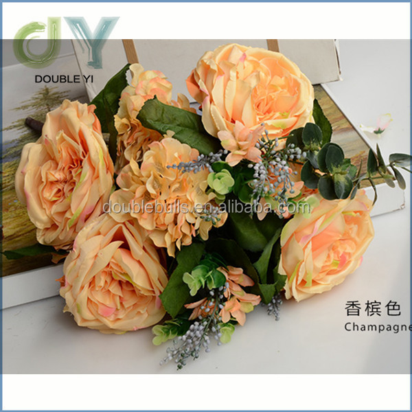 High quality best sale rose artificial flower for decoration