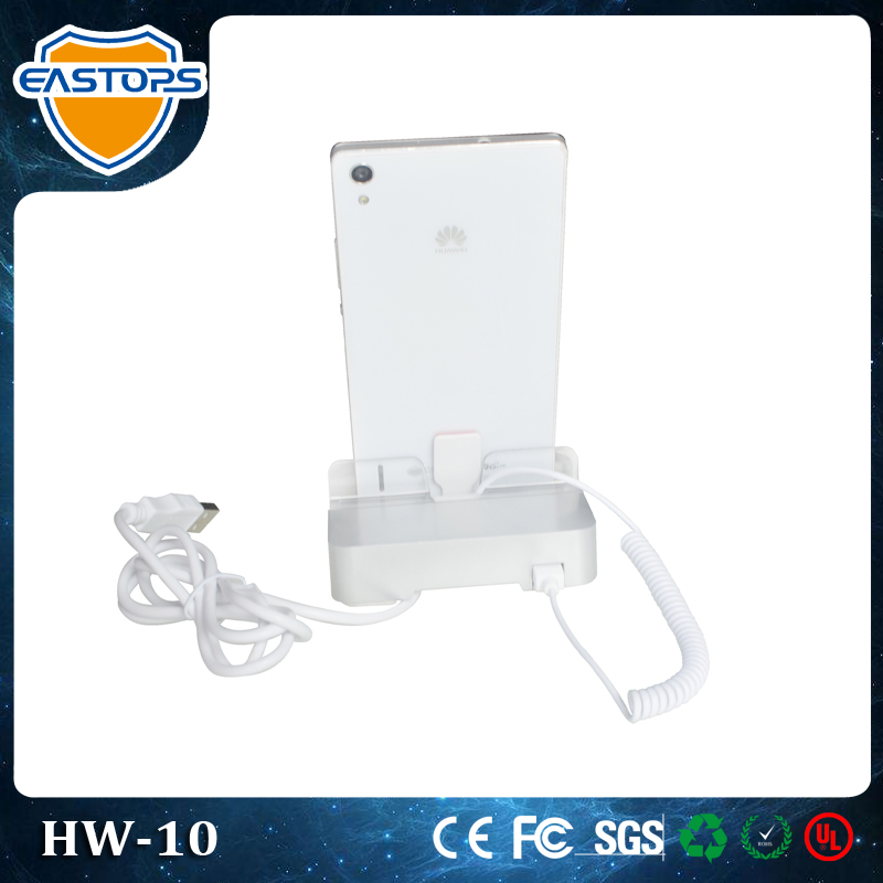 EASTOPS(10 Years) Supply Have Charging And Security Anti-Theft Function For Mobile Phone Shop Decoration