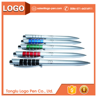 Customized logo hot arab six pen pencils metal for office