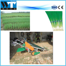 Walking tractor leek harvester water spinach cutter with factory price