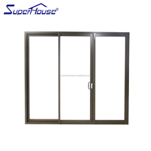 China supplier high quality commercial large double toughened glass magnetic lock for sliding door