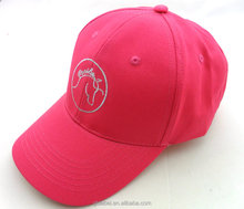 children size 56cm pink baseball caps embroidered