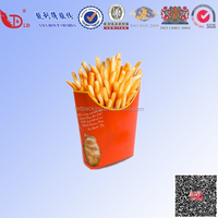 Good quailty,food- grade and popular French fries box /package fries