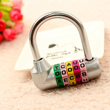 CH-206 CJSJ 4 digit combination lock resettable zinc alloy mechanical number lock