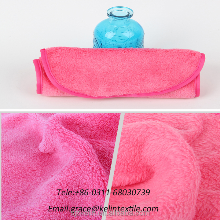 China wholesale 100% polyester microfiber towel makeup remover