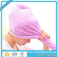 Microfiber Magic Drying Towel/ Cap Hair Dry/ Quick Dryer Bath Towels