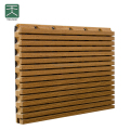 Soundproof and sound absorbing slotted wood wall panels wood acoustic panels