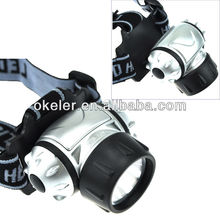 LED Head lamp 21led head flash light Camping head lamp