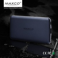 Fast Charge 8000mAh Portable Mobile Power Bank, Automatic Battery Charger