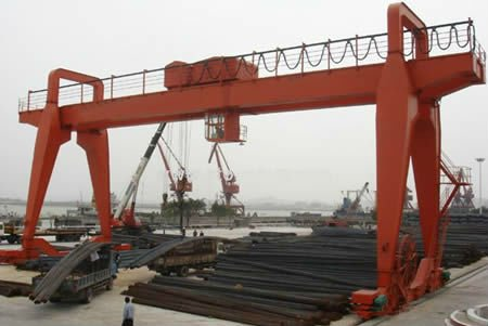 Chinese manufacture rail mounted mobile gantry container crane