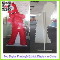 Corrugated Cardboard Robot Standee Display In
