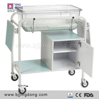 Hospital Height Adjustable Baby Bassinet