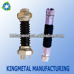 rubber expansion joint threaded