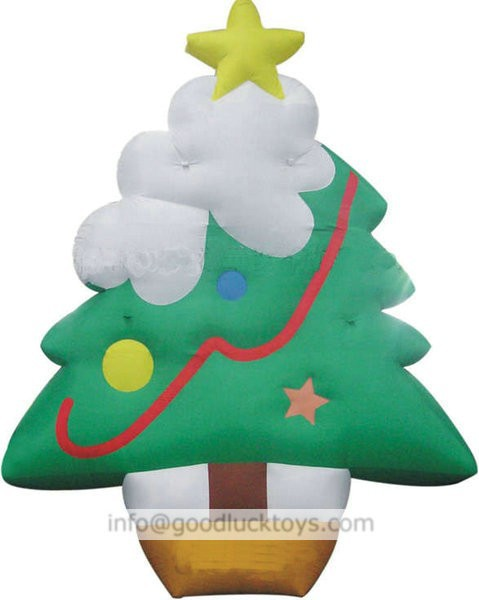 Guangdong The most popular christmas 5m H PVC inflatable christmas tree
